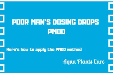 POOR MAN'S DOSING DROPS PMDD Fish Planted Tank Fertilizer Aqua Plants Care UK Shop