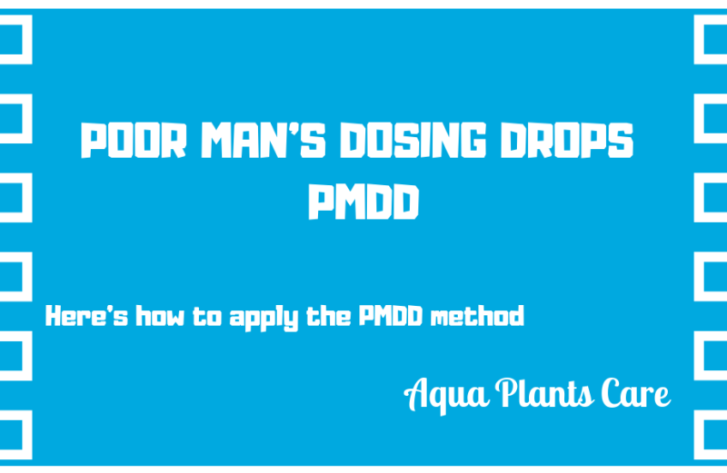 POOR MAN'S DOSING DROPS PMDD Fish Planted Tank Fertilizer Aqua Plants Care UK Shop