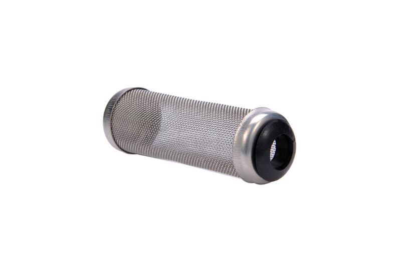 Size - 12mm and 16mm Alloy used - Stainless Steel An attractive way to make your aquarium shrimp and fry safe. No risk of being sucked into the large slots on most standard intake pipe. Durable and easy to clean